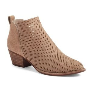 Dolce Vita Sonya Perforated Split Shaft Bootie